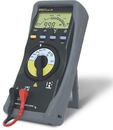 Eristysvastusmittari 1 kV, Rish Insu 20