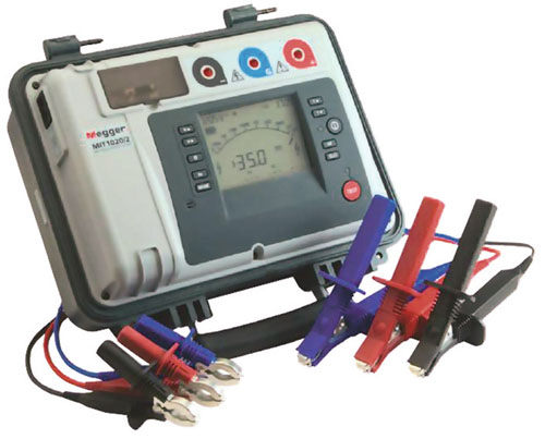 Eristysvastusmittarit 5, 10 ja 15 kV