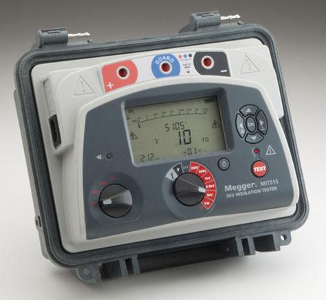 Eristysvastusmittari 5 kV, Megger MIT515