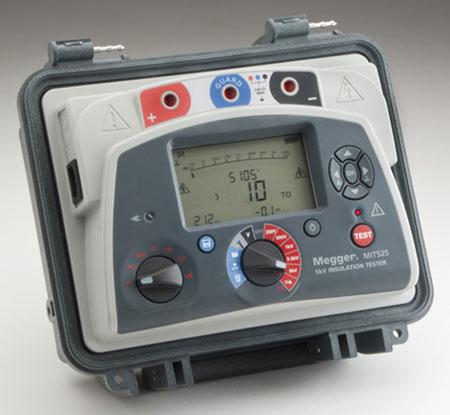 Eristysvastusmittari 5 kV, Megger MIT525