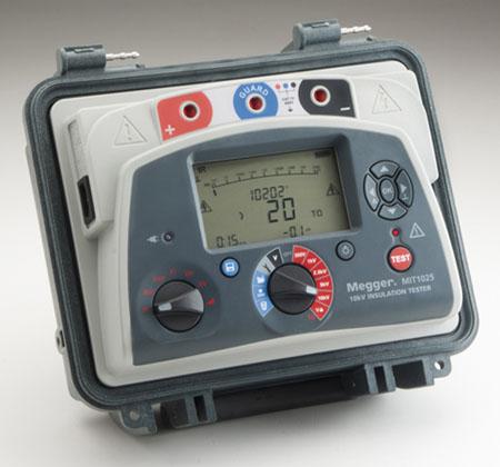 Eristysvastusmittari 10 kV, Megger MIT1025