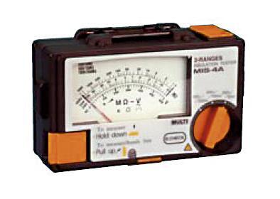 Analoginen eristysvastusmittari Multi MIS-4A