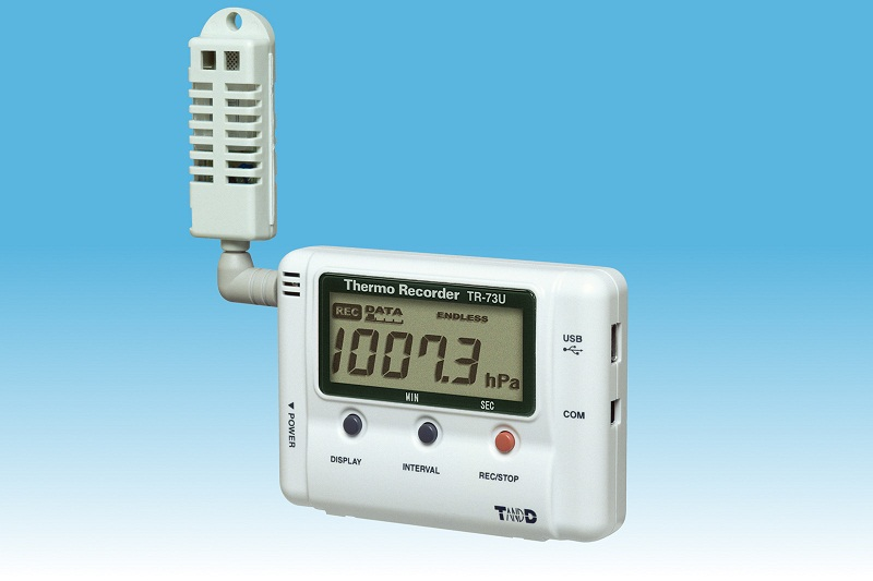TandD TR-7Ui/U-sarjan dataloggerit