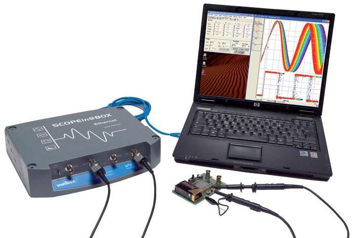 PC-oskilloskoopit, Metrix MTX-sarja
