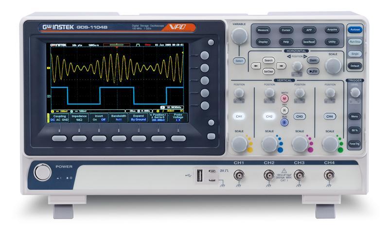 Oskilloskooppi, GW Instek GDS-1000B-sarja