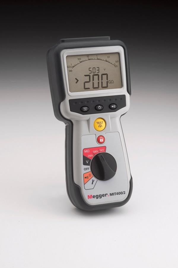 Eristysvastusmittari 1 kV, Megger MIT400/2