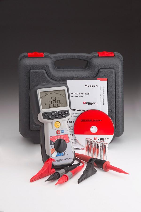 Eristysvastusmittari 1 kV, Megger MIT420/2