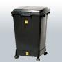 ESD-jätesäiliö, kansi ja pyörällinen jalusta 110 litraa