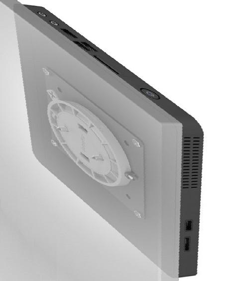 Seinäteline PC:lle tai monitorille max.3kg