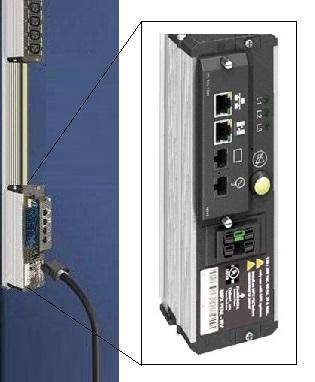 Input-moduuli ja Virtakisko