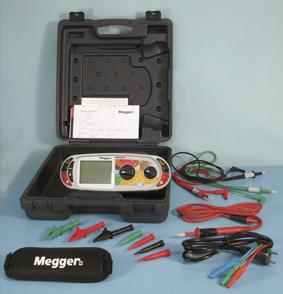 Asennustesteri Megger MFT1825