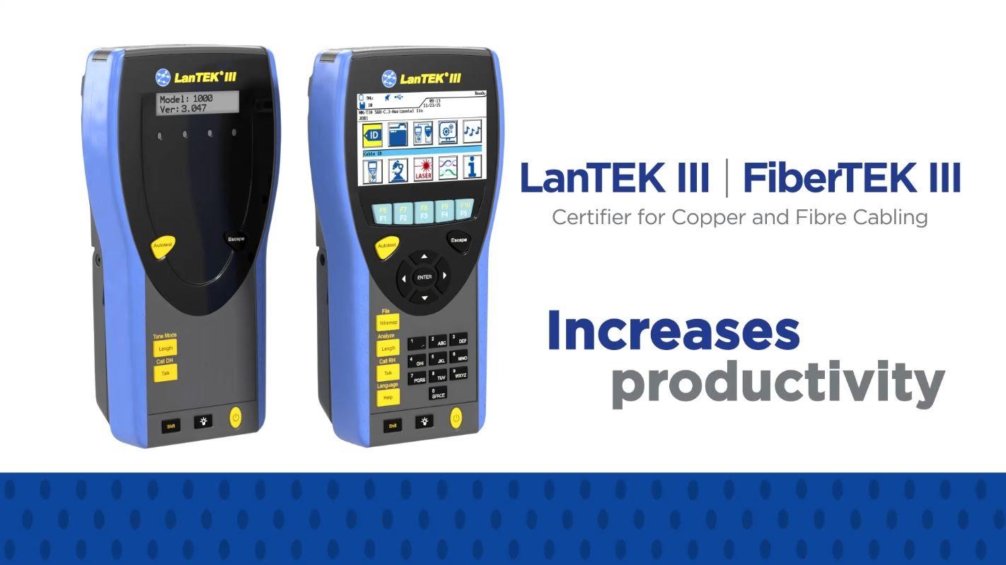 LAN-testeri Lantek  III ja  IV