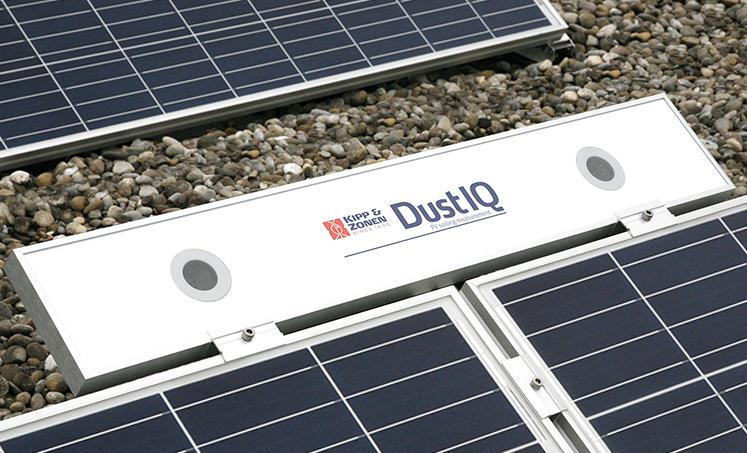 DustIQ, puhdistustarpeen anturi
