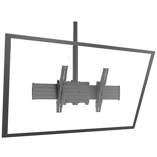 """Fusion kattoteline 30""""-90"""" monitorille (VESA200×100 - VESA800×400)"""