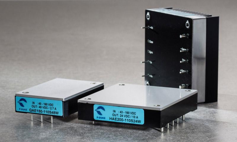 Brick-koteloidut (60-255W) DC/DC-muuntimet