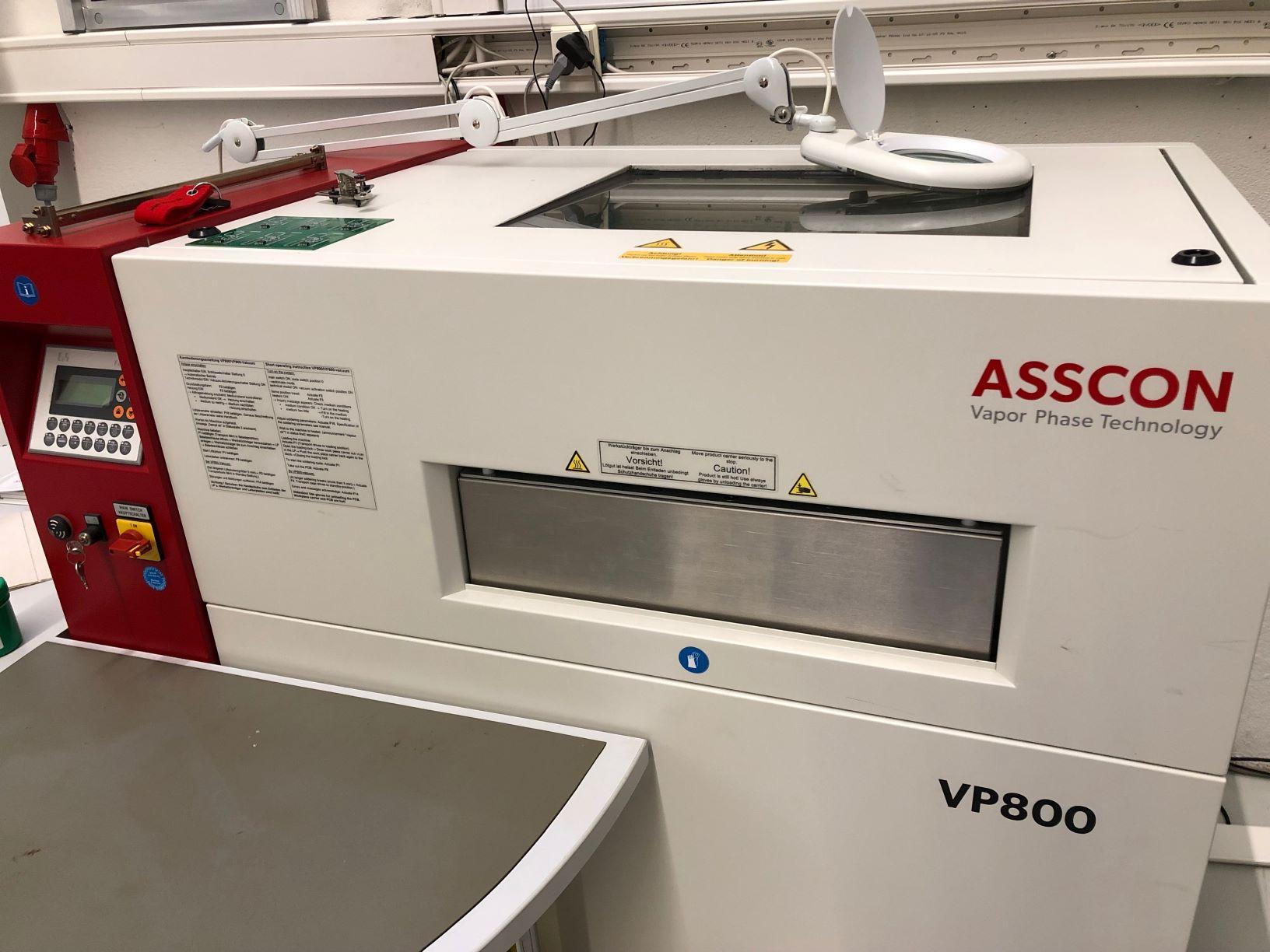 DEMO höyryfaasi reflow-uuni VP800