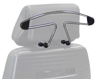 Vaateripustin S5-tuolin niskatukeen