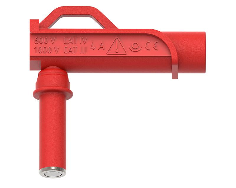 PJP kulmamagneettipää punainen