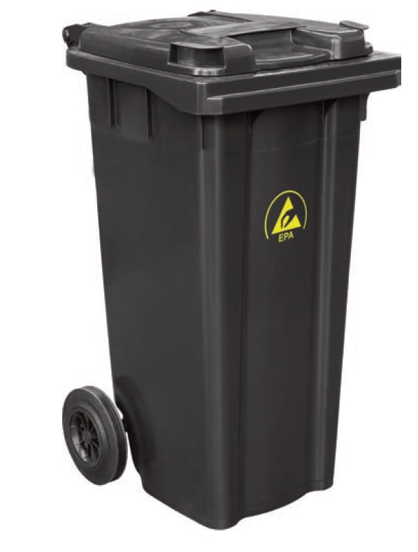 ESD jätesäiliö 120 litraa