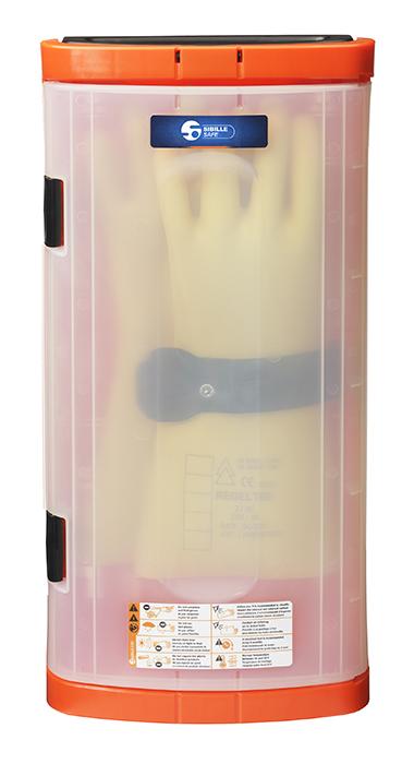 Säilytyslaatikko hanskoille