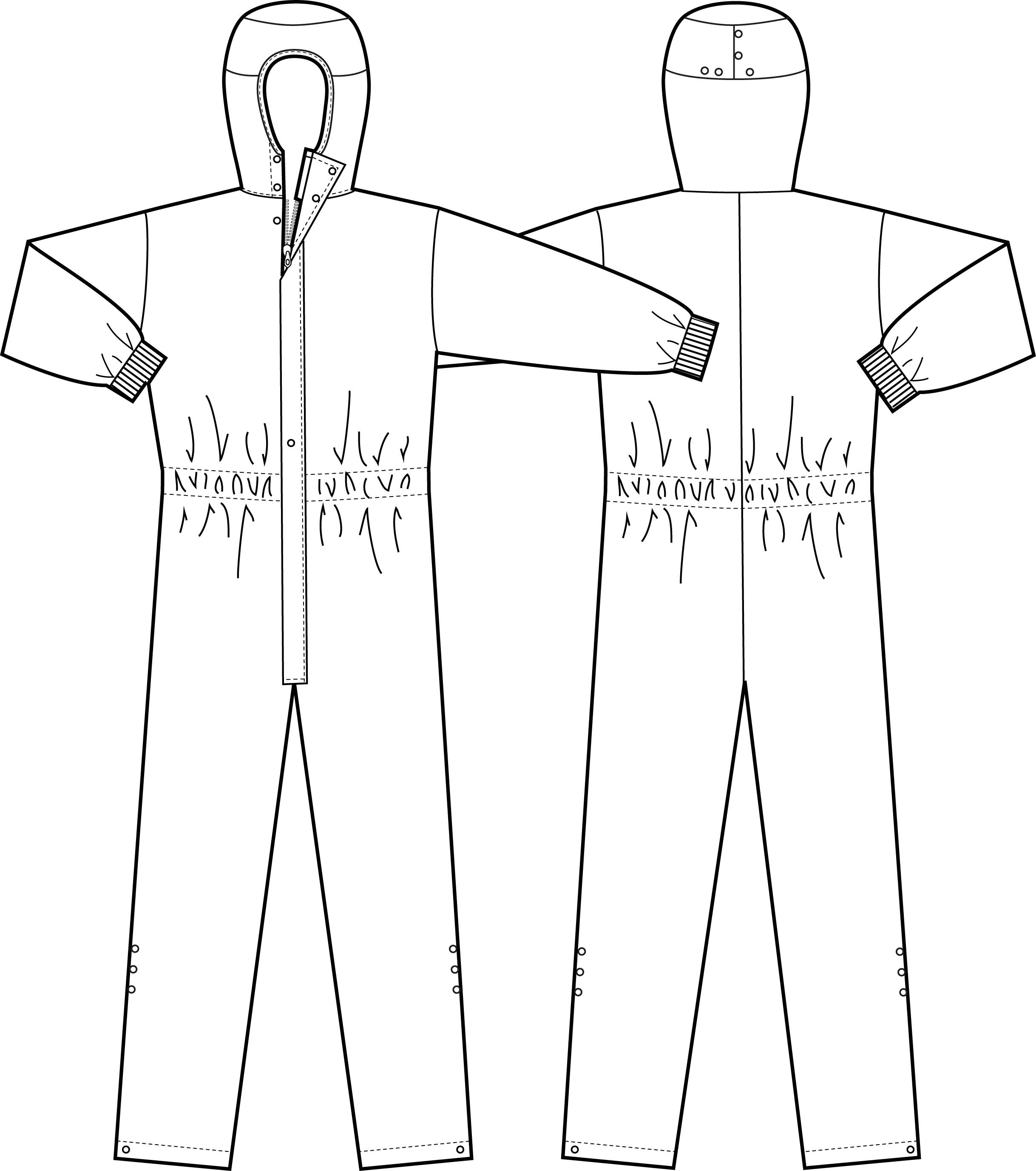 Puhdastilahaalari, XS, valkoinen