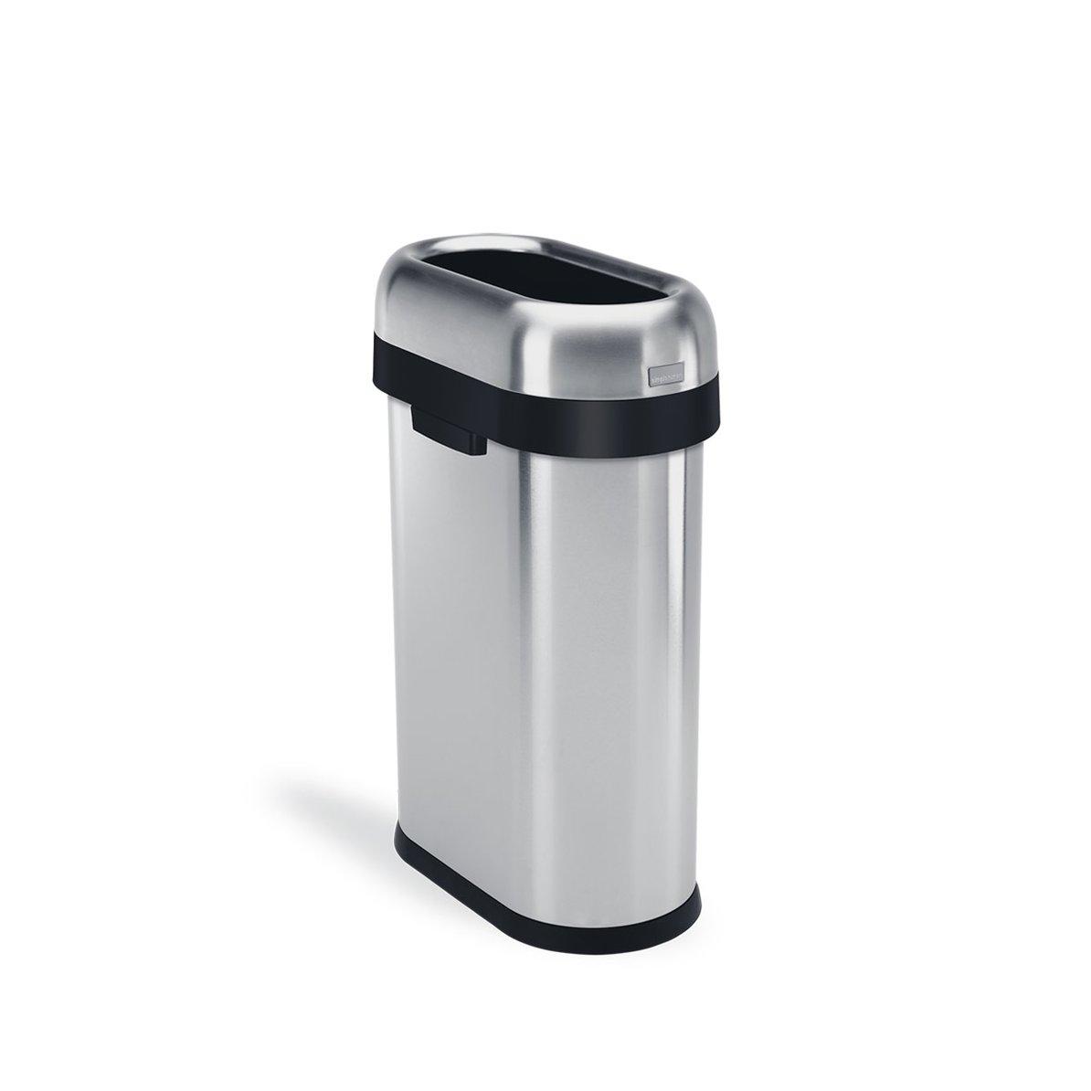 Simplehuman Slim 50L, roska-astia