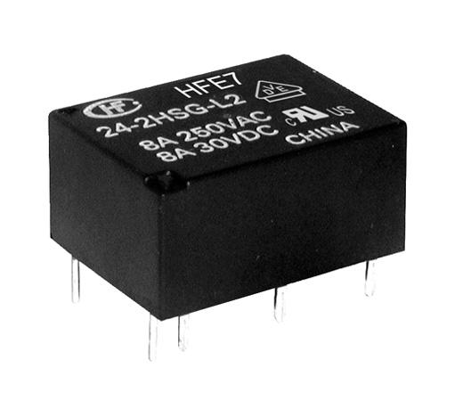 Rele 24VDC  Kontakti: 1HB 240VAC/8A