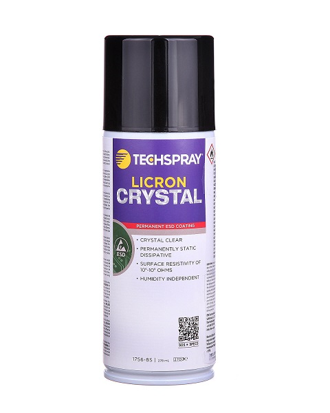 Licron Crystal, ESD pinnoite spray