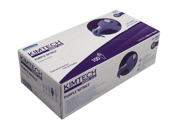 Nitriilikäsine: Purple/XS/1000kpl