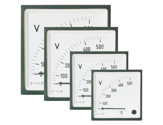 Mittari 96x96mm, 0-250V-AC, IP52