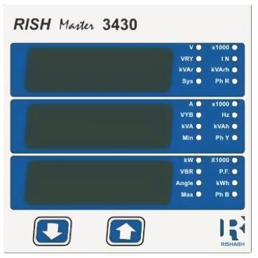 Rishmaster 3430, 3 -vaihemittari
