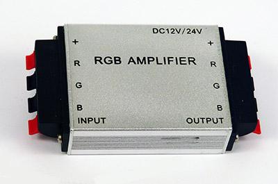 RGB-vahvistin 12/24V 10m välein