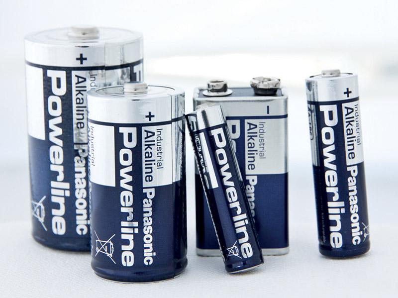 Panasonic Powerline LR06 AA 8kpl
