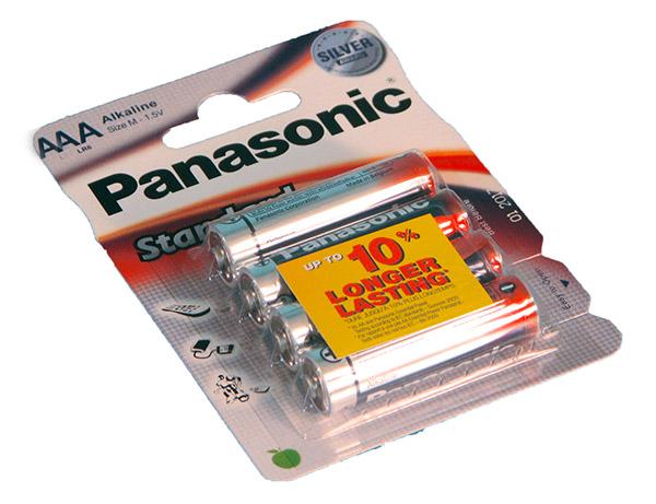 Panasonic Standard Power AAA 4 kpl