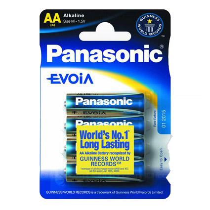 Panasonic Evoia LR6/AA 4kpl