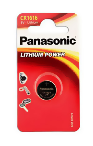 Panasonic CR1616 3V Litium 55 mAh