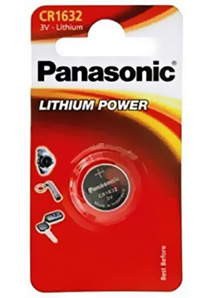 Panasonic CR1632 3V Litium
