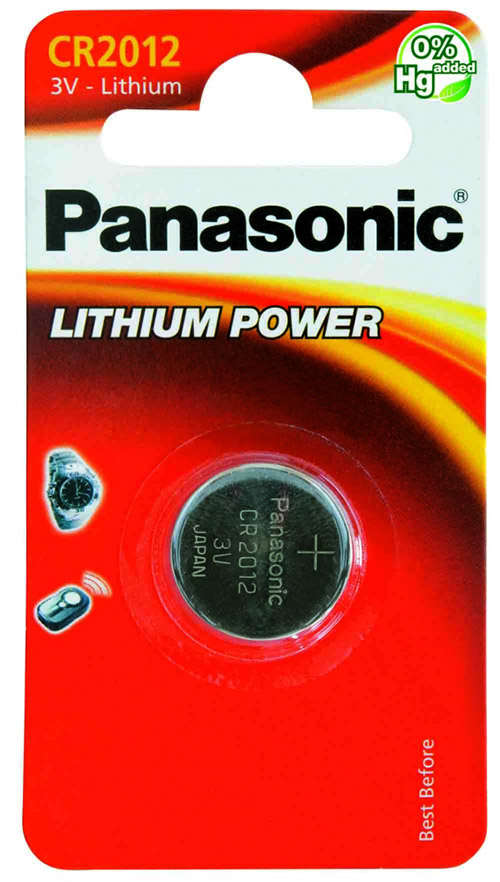 Panasonic CR2012 3V Litium