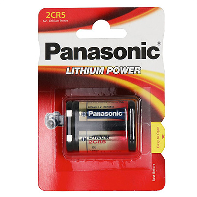Panasonic 2CR5M 6V Litium 1600mAh