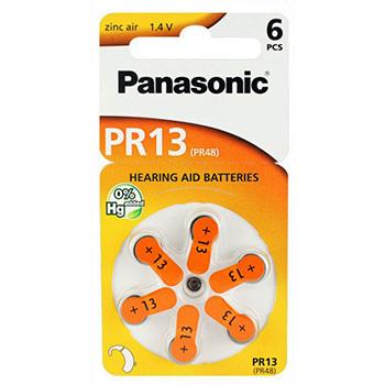 Panasonic PR13 265mAh 6kpl