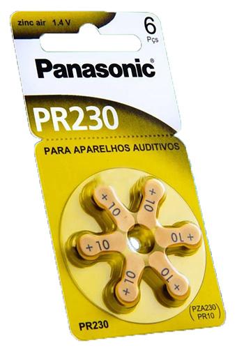 Panasonic PR230 75mAh 6kpl