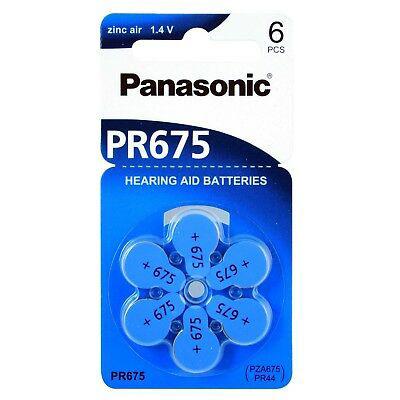 Panasonic PR675 605mAh 6kpl