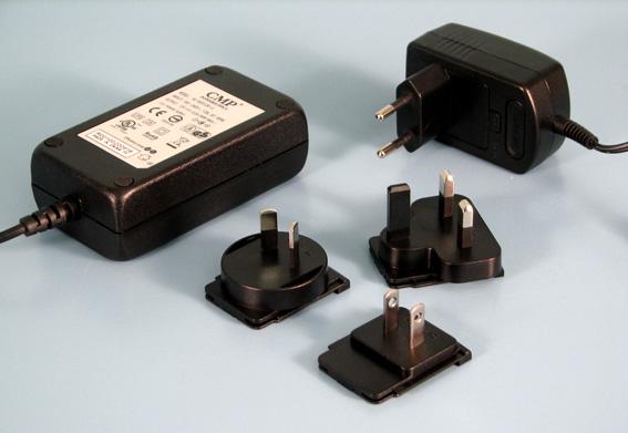 Multiplug 24W,12VDC 2,5x5,5mm