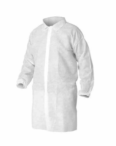 Kleenguard A10 Visitor Coat,M,5kpl