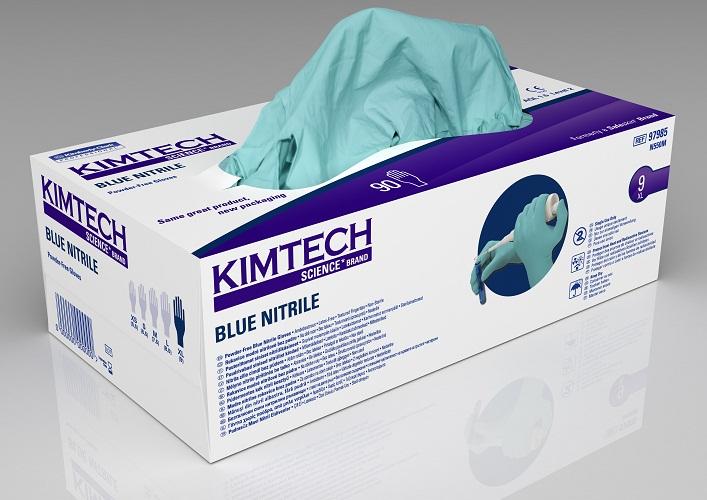 Nitriilikäsine: Sininen/M/100kpl