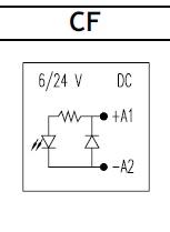 Led moduli, relekantaan 6-24VDC