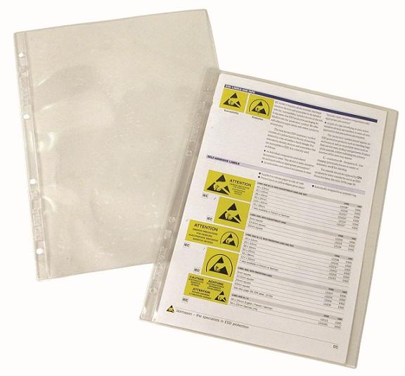 Dok.tasku A4, tukeva PVC, 10kpl
