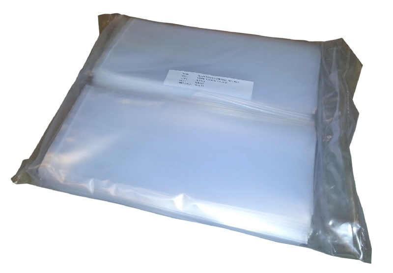 LDPE -pussi, 360mm x 440mm x 0,08mm