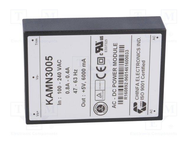 85-265VAC/5VDC (6A) 30W