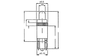 Led WB 24-28VDC valkoinen